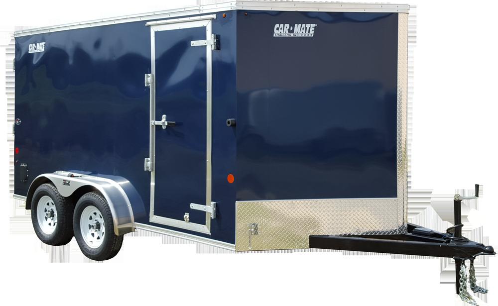 Custom Cargo 7 Wide Heavy Duty Tandem Axle