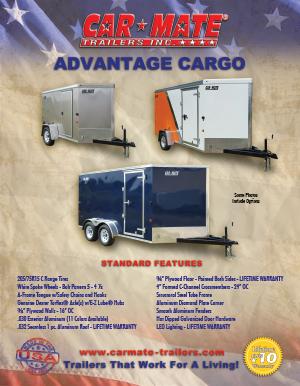 Advantage Cargo Trailer Brochure Cover