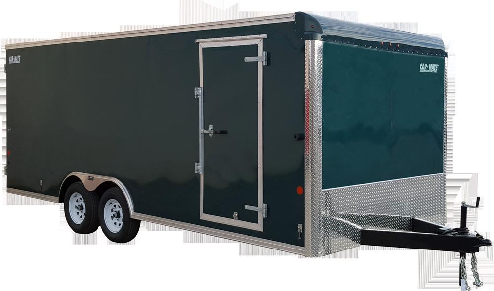 Custom Cargo 8 Wide Heavy Duty Tandem Axle