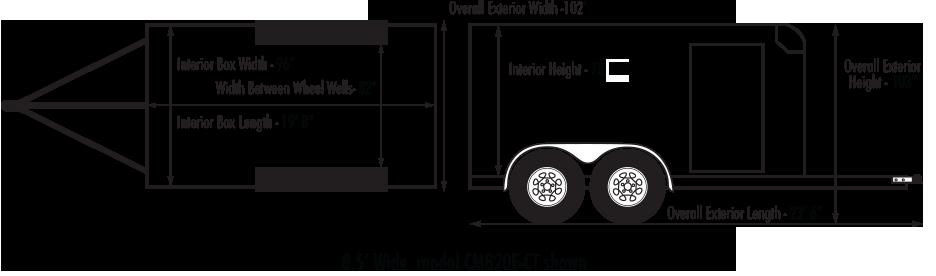 sportster-car-trailer-heavy-duty-tandem-axle-diagram-1