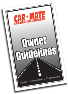 Car Mate Owners Manual Cover