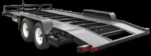 Equipment Trailer Angle Iron Open Car Steel Runner Open Deck