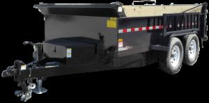 Equipment Trailer Hydraulic Dump Contractor Dump