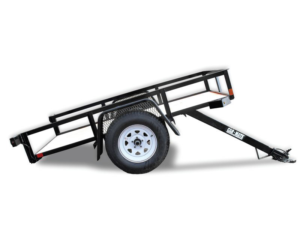Utility Trailer Angle Iron Tilt Bed