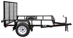Utility Trailer Angle Iron Single Axle