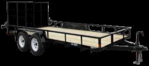 Utility Trailer Angle Iron Tandem Axle