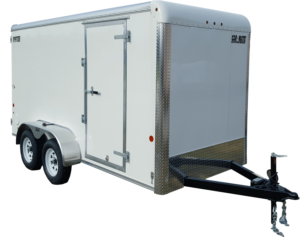 Sportster Cargo - Sportster Cargo (Flat Front) | Car Mate Trailers, Inc