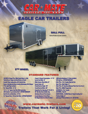 Eagle Car Trailers Brochure Cover