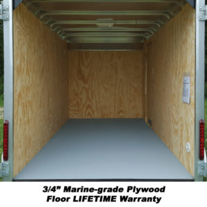 "3/4"" Marine-grade Plywood Flood - Lifetime Warranty"