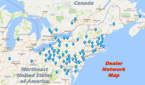 Car Mate Dealer Network in USA and Canada