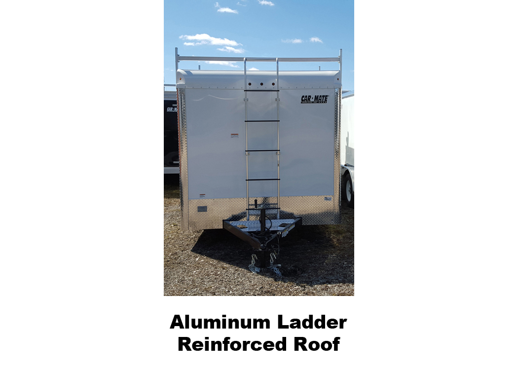Aluminum Ladder Reinforced Roof
