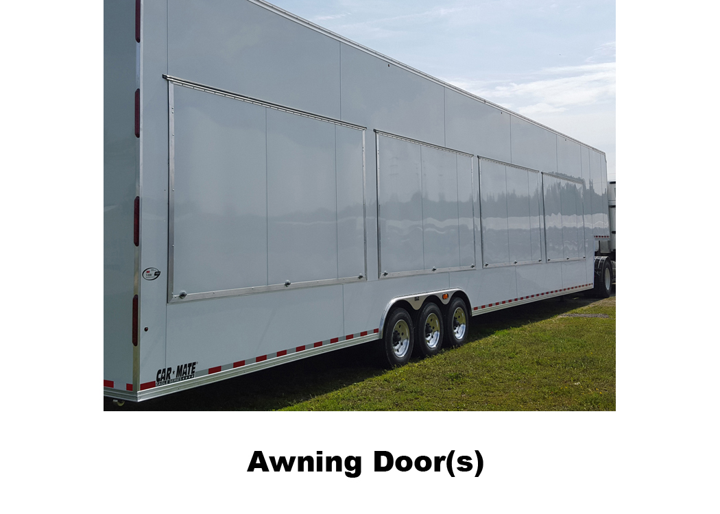 Car Mate Trailers Inc That Work For A Living Trailer Transport And Travel On Harbor Freight Wiring Diagram Awning Doors