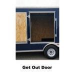 Get out Door