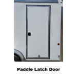 Paddle Latch Door