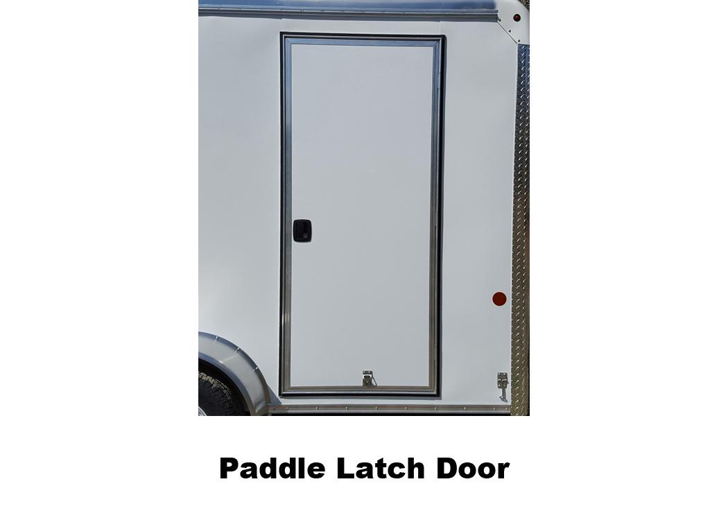 Paddle Latch Door