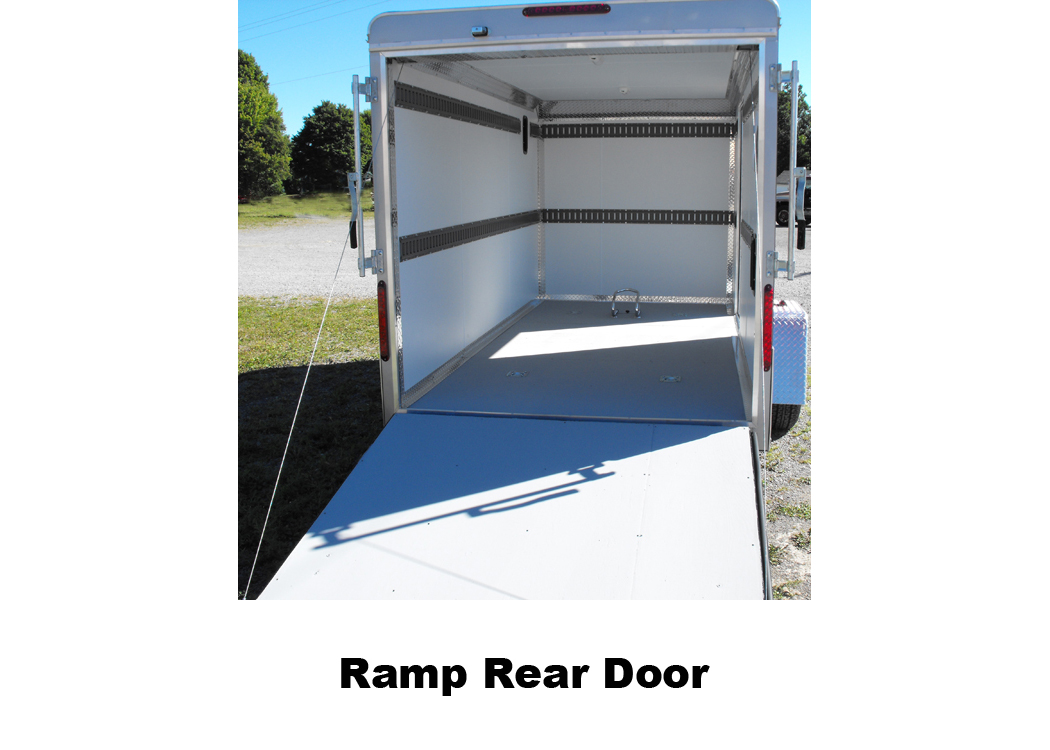 Ramp Rear Door