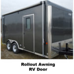 Rollout Awning RV Door