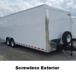 Screwless Exterior