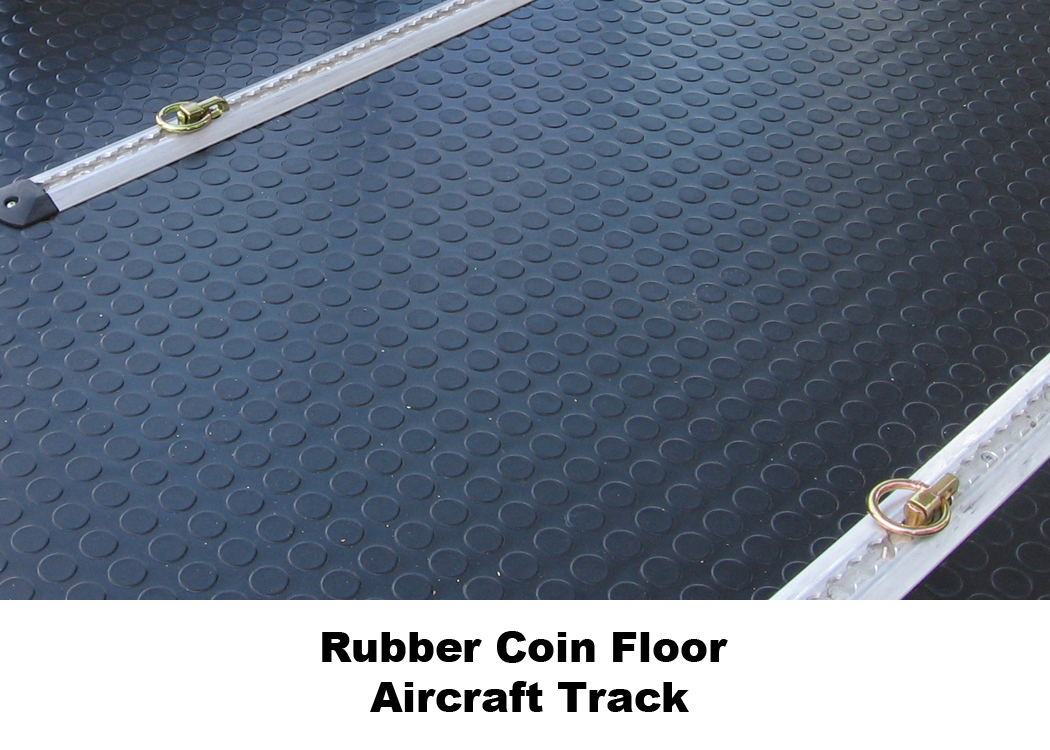 Rubber Coin Floor - Aircraft Track