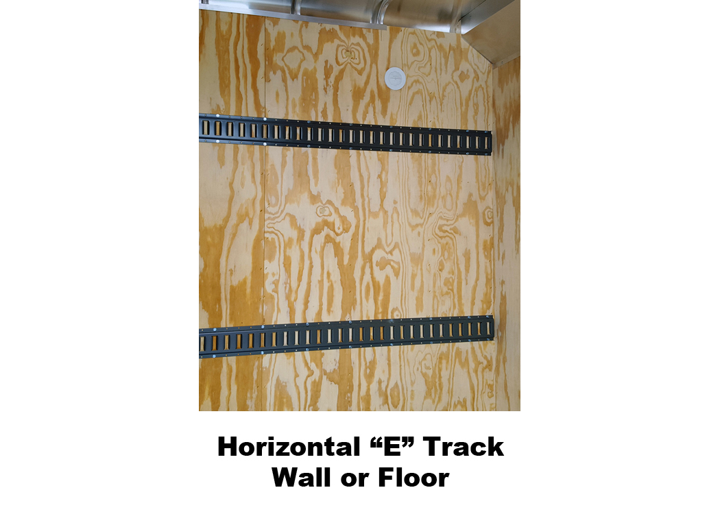 Horizontal E Track Wall or Floor