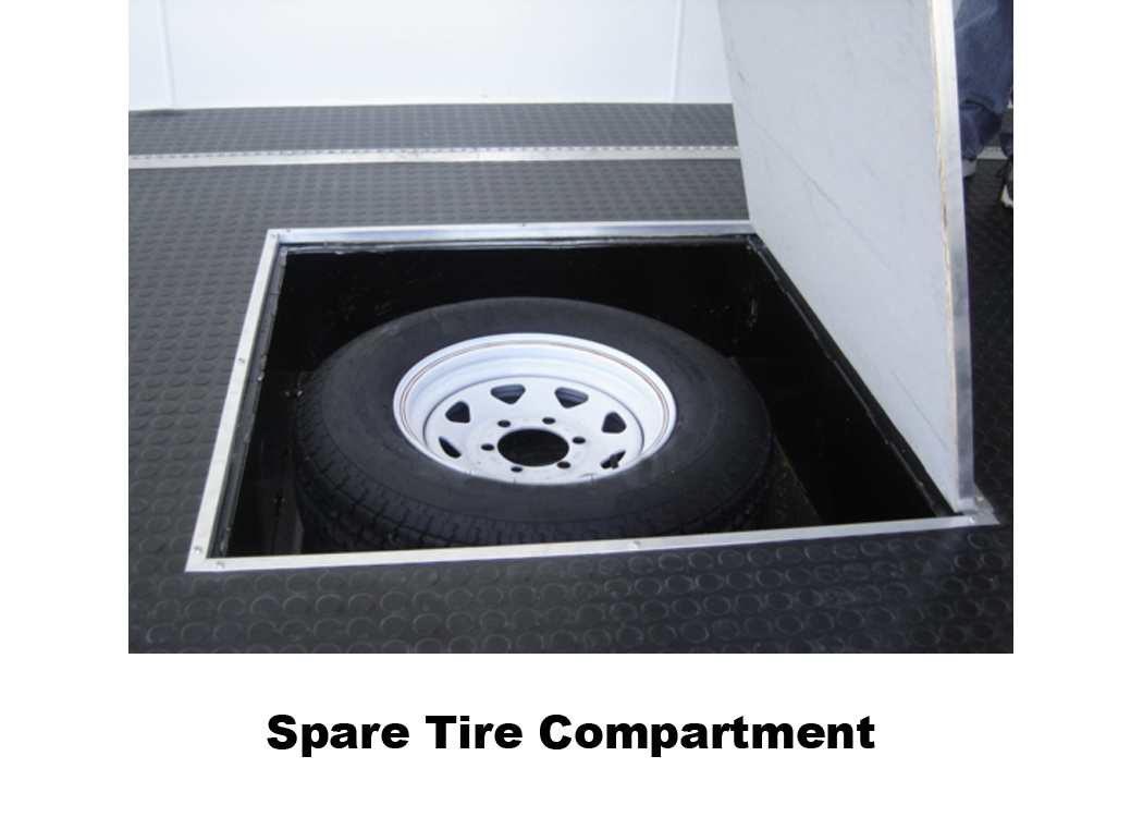 Spare Tire Compartment