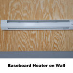 Baseboard Heater on Wall