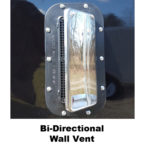 Bi-directional wall vent