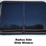Radius Side Slide Window